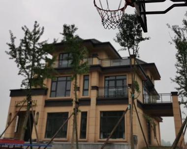 【实建案例】永云别墅AT1778三层现代中式实建案例图欣赏