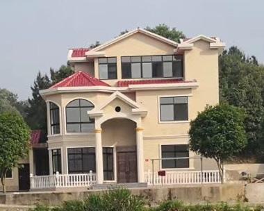 【实建案例】AT67简欧三层别墅以建好实例图欣赏