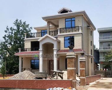 【实建案例】AT928安徽安庆自建三层别墅案例图欣赏