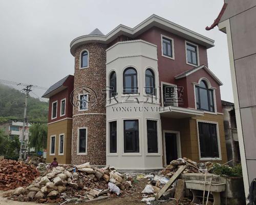 【施工案例】AT1671陈先生三层别墅实建图欣赏