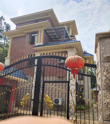 郴州市桂阳县张总四层欧式漂亮别墅施工案例图欣赏