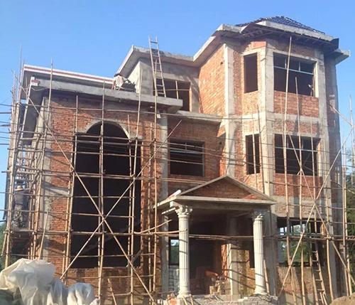 别墅建筑施工中最常用的三种砖墙砌法