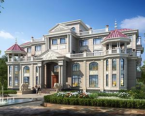 【永云别墅】AT1860高端豪宅复式带电梯四层别墅建筑设计图纸35.8mx19m